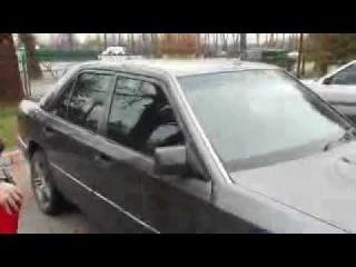 Mercedes benz w124. Аварийное вскрытие