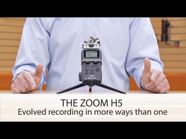 THE ZOOM H5 ☆ Louder. Closer. Cleaner.