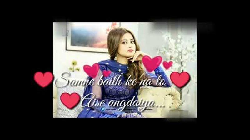 Dil❤️ nahi lagta tere bin❤️ whatsapp status💕 video by Aaliya best song