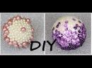 DIY Efektowne bombki z cekinów i perełek