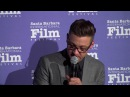 """SBIFF Cinema Society - """"Wind River"""" Q&A with Jeremy Renner - Clip 01"""