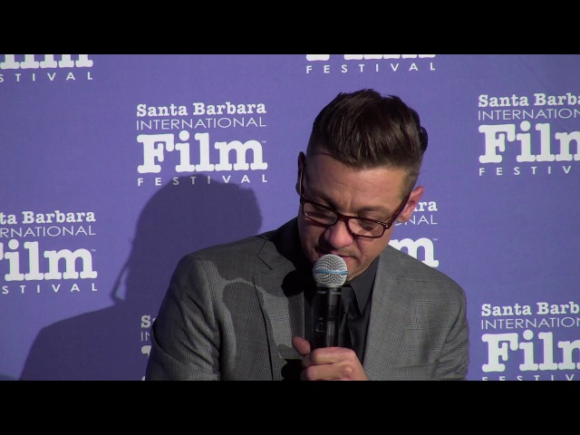 SBIFF Cinema Society Wind River Q A with Jeremy Renner Clip 01