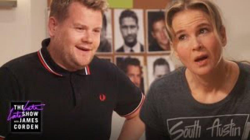 British 'Bridget Jones Baby' Auditions w/ Renée Zellweger Patrick Dempsey