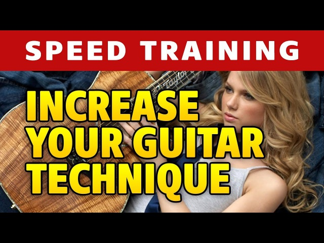 Guitar Speed and Tremolo Training (based on Storm by Vivaldi)