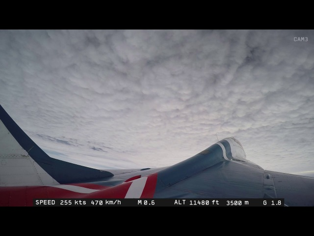 MiG-29 Stratosphere Flight in a Supersonic Fighter