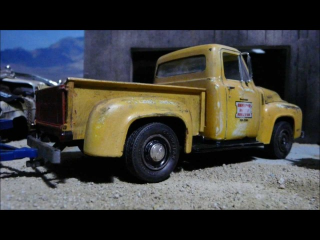 1/25 Scale 1953 Ford Pickup work truck.