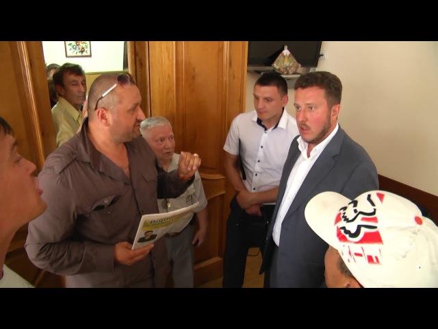 Антон Яценко в Умані запис погроз депутата (нецензурн