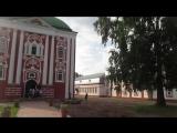 Санаксарский монастырь. Утром перед Литургией, после братского молебна.