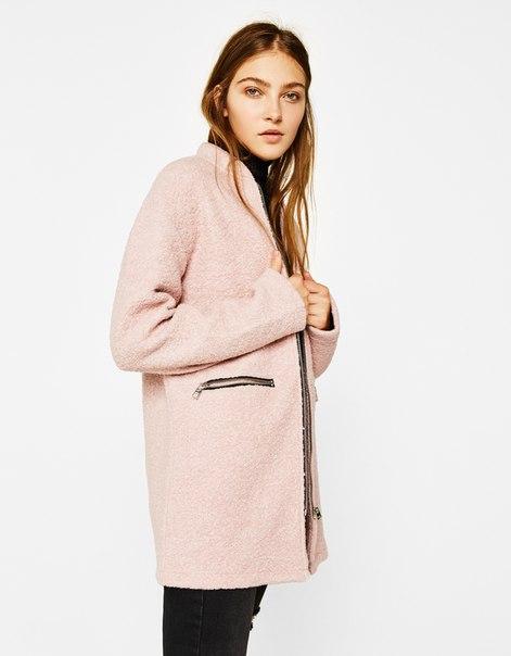 Пальто с молнией