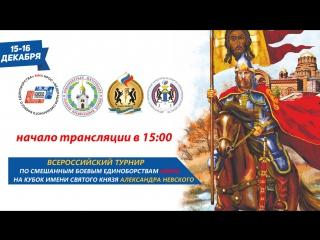Всероссийский мастерский турнир по смешанному боевому единоборству (ММА) на кубок имени Святого Князя Александра Невского