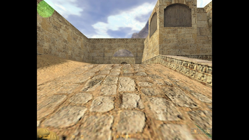 Testing fps counter-strike 1.6