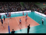 Обзор 22-го тура чемпионата России по волейболу среди мужских команд / 720p