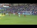 Первый гол в матче против Транмер Роверс, Милнер