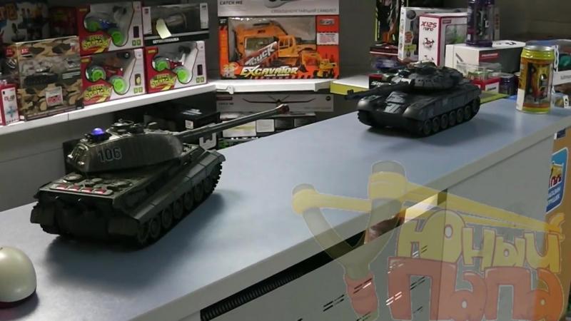 Обзор танкового боя Zegan 99820 T-90 vs King Tiger 1-28