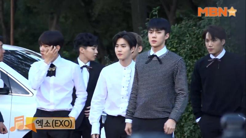 MBN STAR 170920 Soribada Best K Music Awards Red Carpet @ EXO