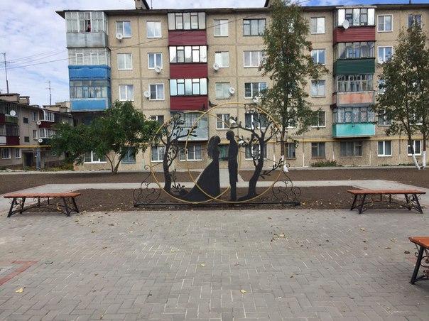 Новая парковая площадка в центре👍