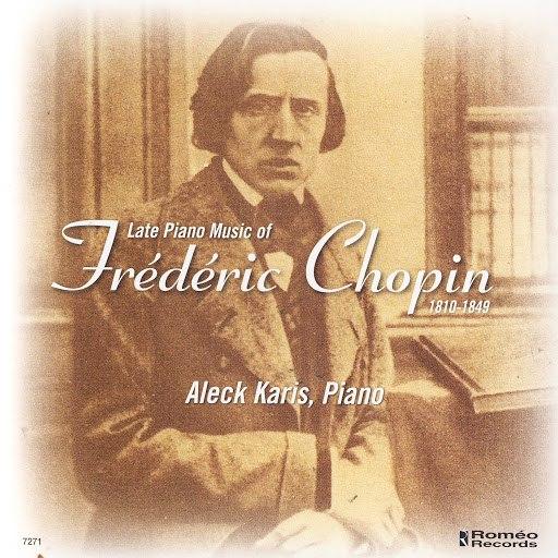 Frédéric Chopin альбом Late Piano Music Of Frédéric Chopin