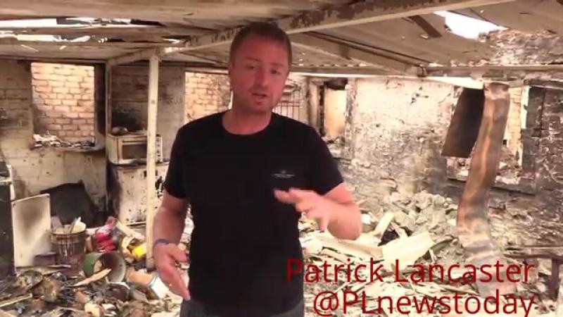 14 домов уничтожено в результате обострения в Украинской Войне