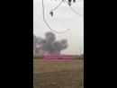Сирия.07-12-2017.Последствия бомбардировок Ту-22М3 в районе Абу-Кемаля