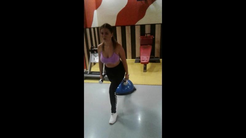 Персональная тренировка с Марией Парчевской...💪💪💪