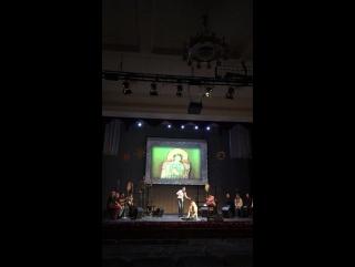 Репетиция «Силы небес». Маркелловы голоса. Поёт Нина Сидоренко.