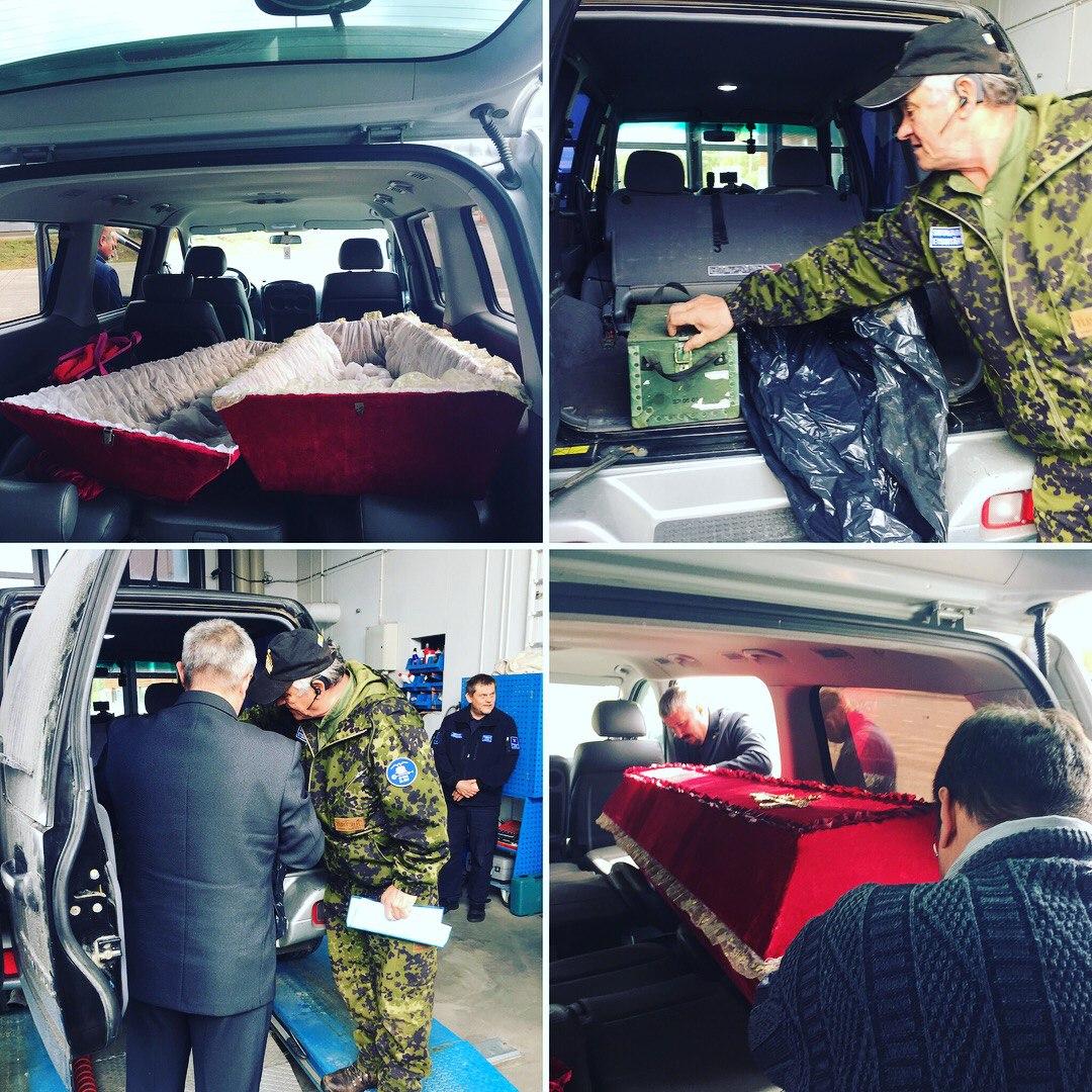 Финны передали Мурманской области останки советских солдат