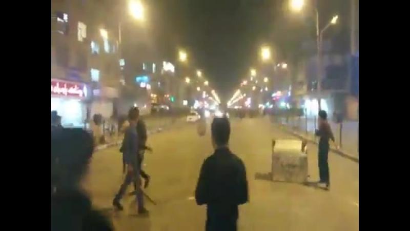 Протестувальники в Ірані протистоять Ісламській Революційній Гвардії