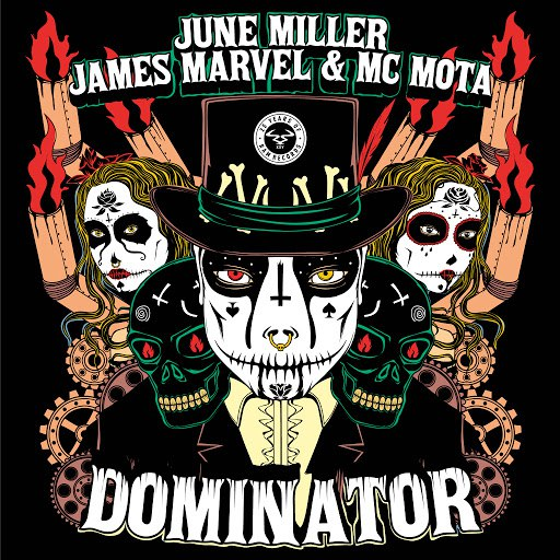 June Miller альбом Dominator / A Pinda Funk