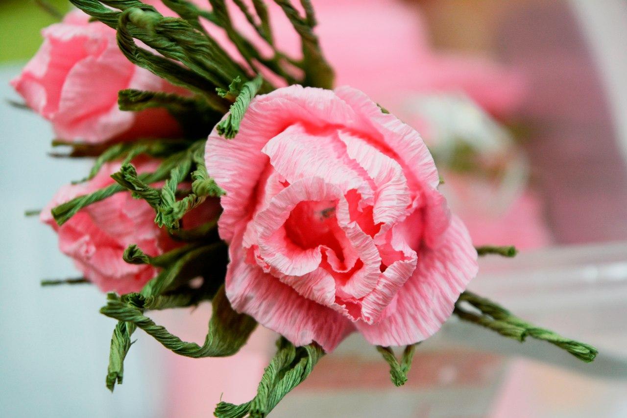 мастер-класс букет из конфет - розы