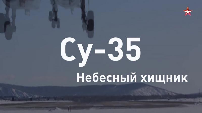 Небесный хищник: новейший истребитель ВКС Су35 за 60 секунд Армия