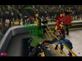 Капитан Америка, Железный Человек и Тор против Халка и Красного Халка