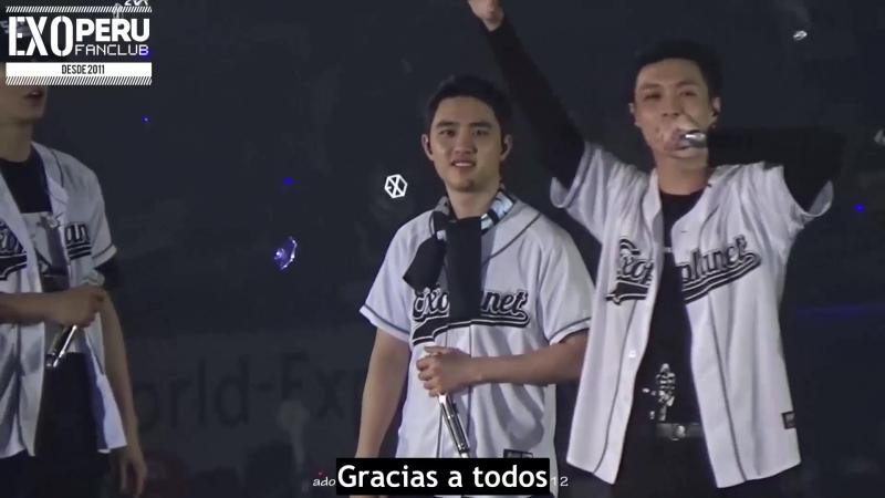 [SUB ESP] 17/02/12 - Lay compone una canción y promesa a los fans @ EXO'rDium en Hong Kong
