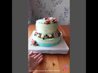 свадебный торт для Евгения и Елены 💕