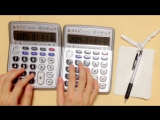 Pirates of the Caribbean Theme but its played on two calculators