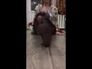 Милая Школьница показала ножки в колготках Sweet schoolgirl showed legs in pantyhose HD