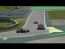 Гран-При Бразилии 2017 - Аварии на первом круге гонки 720 HD