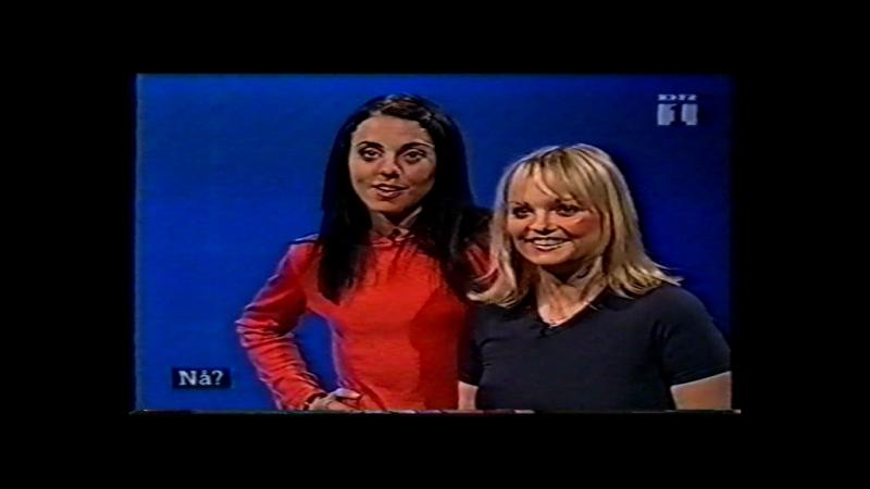 Emma Bunton Melanie C - Interview - Skattefri Lørdag 09.12.1998