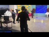 "Nikita Alekseev on Instagram: ""Утро в гостеприимном Баку началось в студии телеканала Ictimai TV. #ALEKSEEV #Forever #Eurovision #Belarus #Baku #A..."