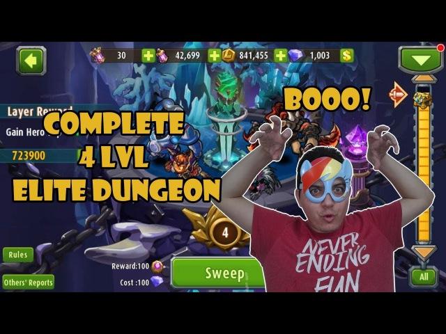 Magic Rush Heroes - LVL 4 Elite Dungeon