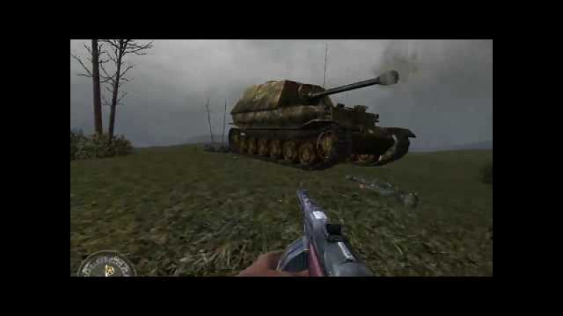 Call Of Duty: United Offensive Миссия 9 Окопы