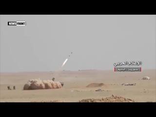 Сирийская армия зачищает от террористов ИГ район селения Хумайма, провинция Хомс