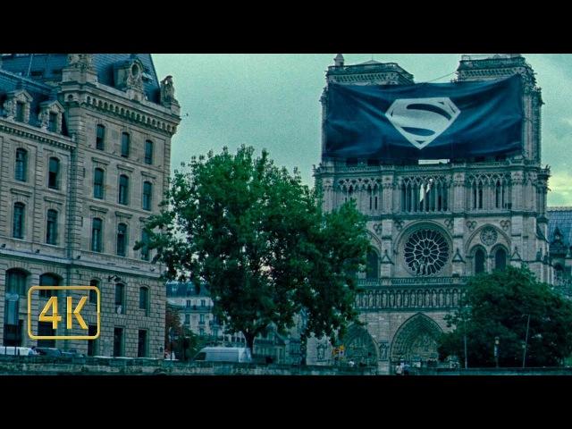 Мир скорбит по Супермену. Вступительная сцена. Лига справедливости (2017) 4K ULTRA HD