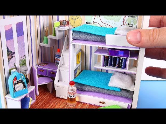 DIY Miniature Dollhouse Room [NOT a KIT]