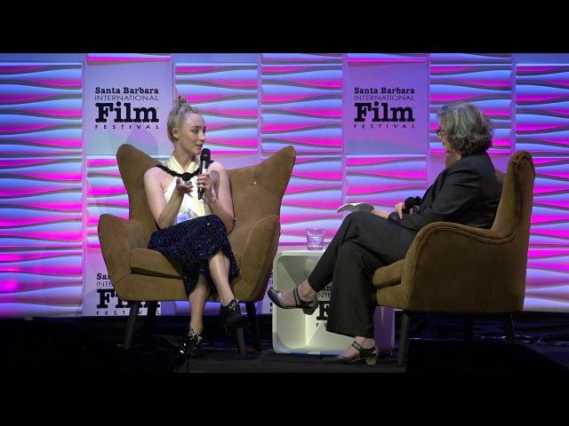 SBIFF 2018 Saoirse Ronan Discusses Greta Gerwig