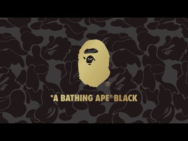 A BATHING APE® BLACK FW 2015 / Mercedes-Benz McLaren SLR Stirling Moss