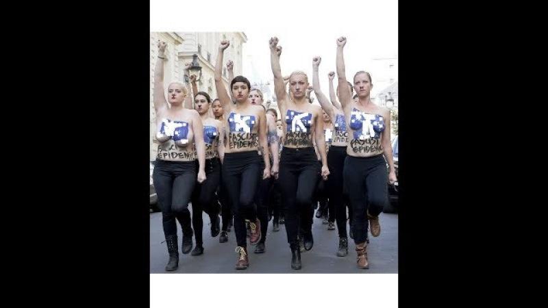 Вся Правда о Празднике 8 Марта День Борьбы За Свободу Бешеных Голожопых Сероводородных Проституток