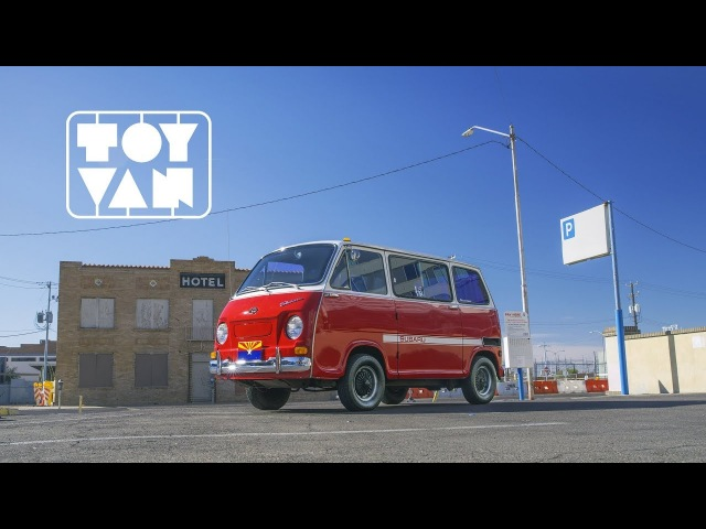 1970 Subaru 360 A Toy Van For The Street