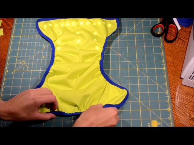 Сшить подгузник своими руками - непромокаемая обложка для подгузника