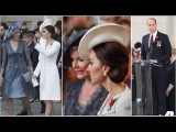 King Philippe, Queen Mathilde, Prince William and Duchess Catherine - Passchendaele 100