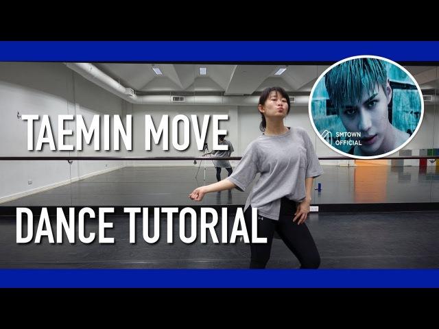 TAEMIN 태민 MOVE Dance Tutorial | Full w Mirror [Charissahoo]
